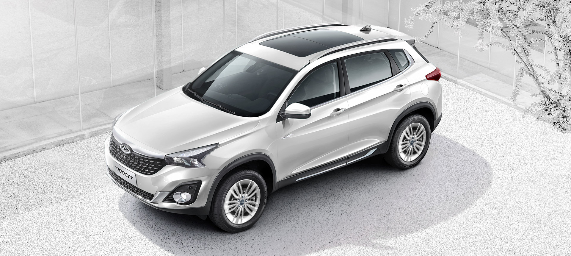 Chery Tiggo7 1.5 Turbo White color