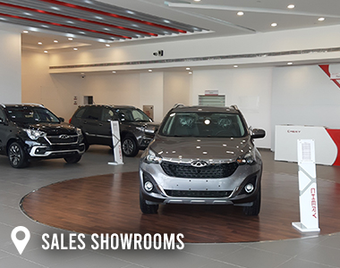 chery egypt sales showrooms